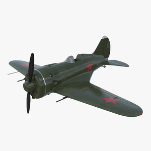 3D soviet wwii fighter aircraft model