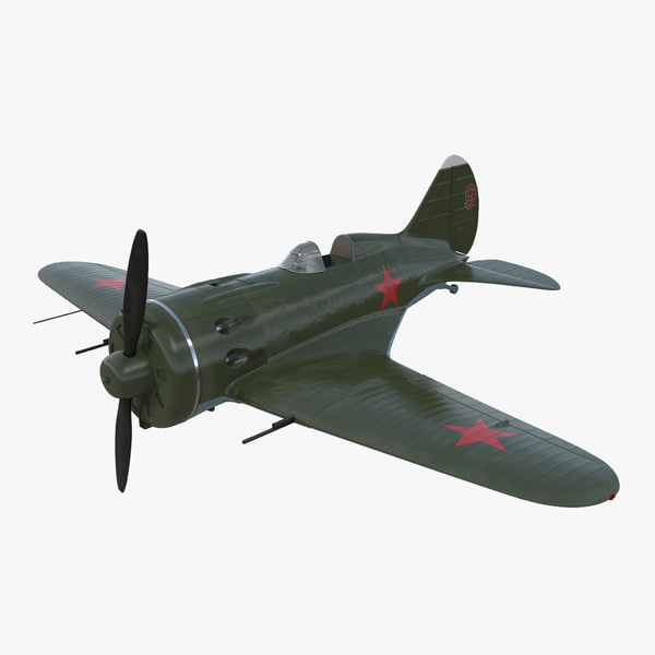 3D soviet wwii fighter aircraft model