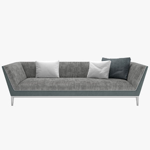 3D sofa mr wilde flexform