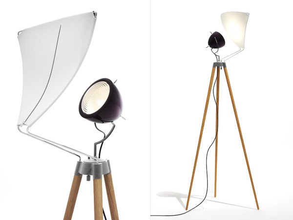3D george floor lamp model