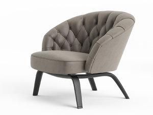 3D winston armchair