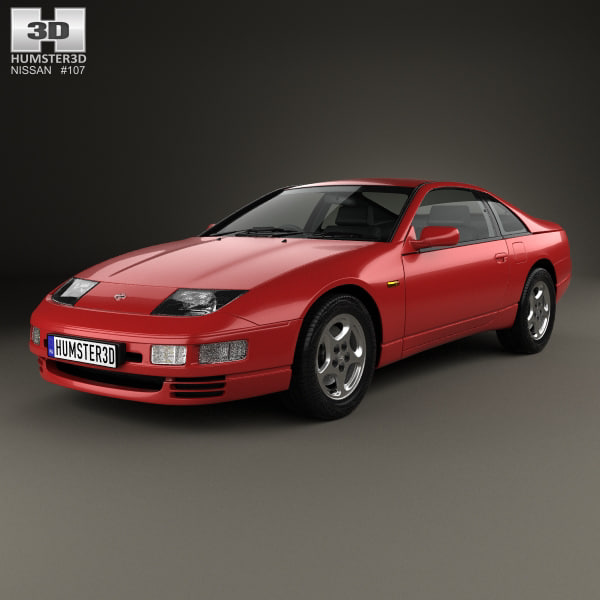 300zx Turbo Shiro Special: 3D Nissan 300zx 300