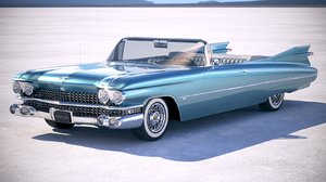 cadillac eldorado convertible 3D model