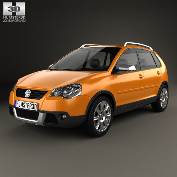 volkswagen cross polo 3D model
