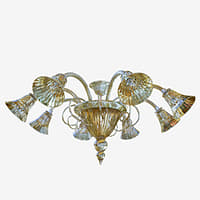 3D chandeliers sylcom 1421 8 model