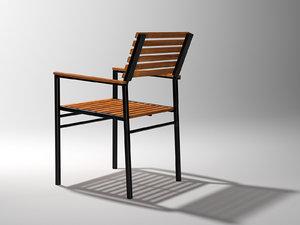3D echo armchair