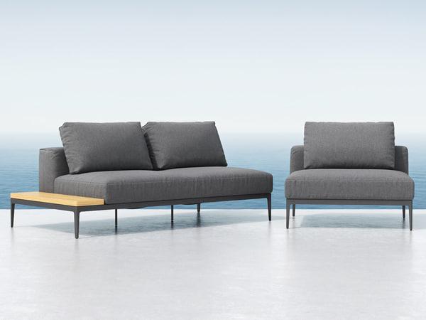 grid seating elements 3D model