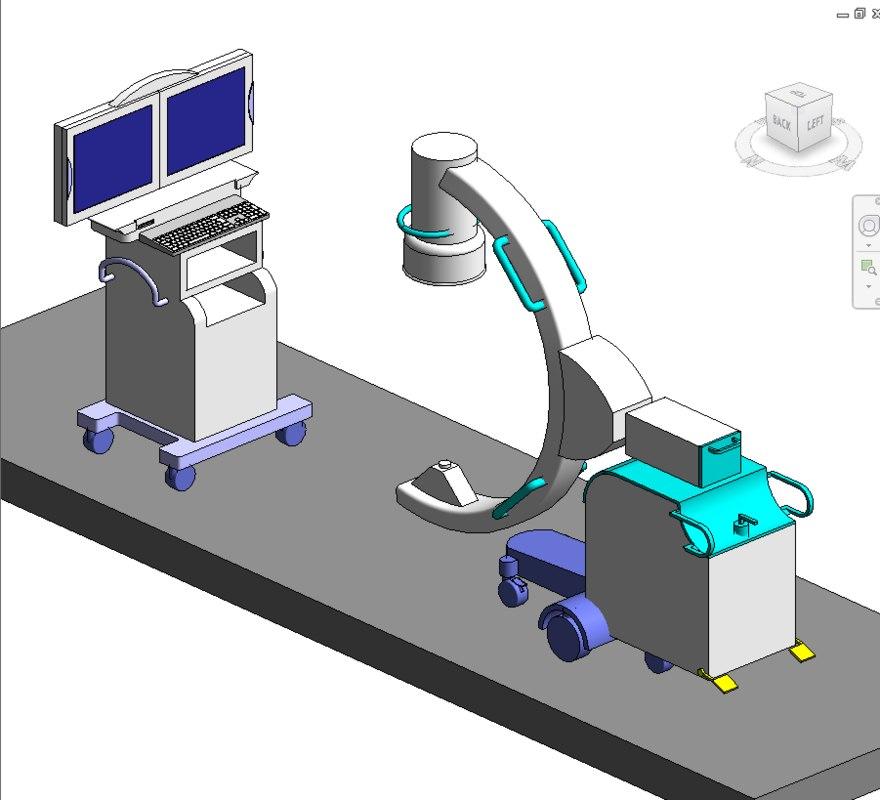 medical equipment 3D