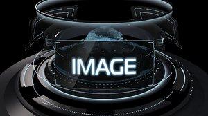 motion graphic menu 3D