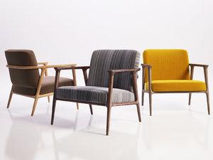 3D zio lounge chair