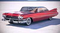 Cadillac 62 Hardtop Coupe 1959