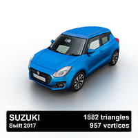 2017 suzuki swift 3D model