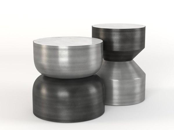silo tables 3D model