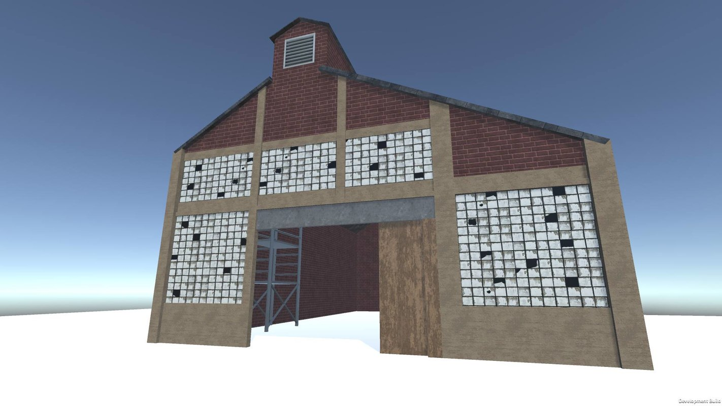 warehouse asset pbr 3D model