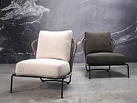 3D aston cord armchair