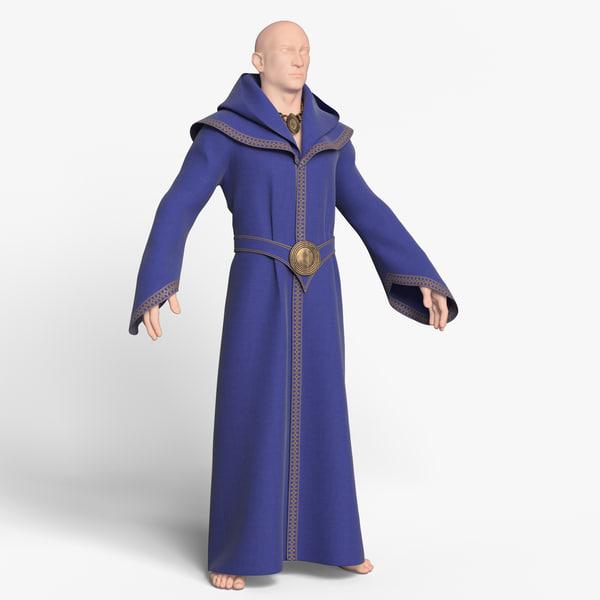 3D clothing modeled mannequin model
