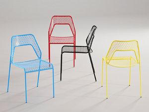3D hot mesh chair
