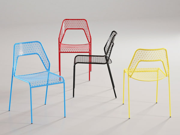 3D hot mesh chair