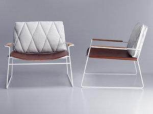 3D seb armchair model