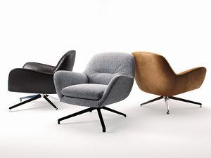 jensen armchair 3D model