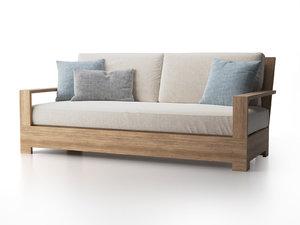 3D belvedere classic sofa
