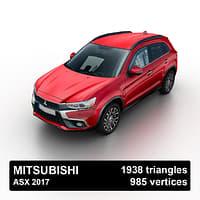 2017 mitsubishi asx model