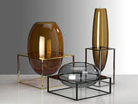 3D cube vase