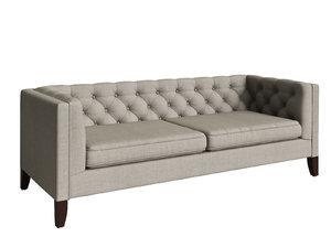 3D model fog kendall sofa n