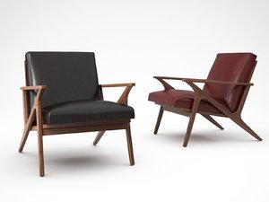 cavett chair 3D