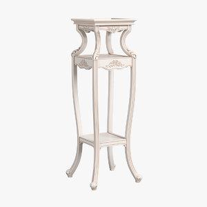 2551200 230 carpenter flower 3D model