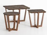 3D albert 1 tables model