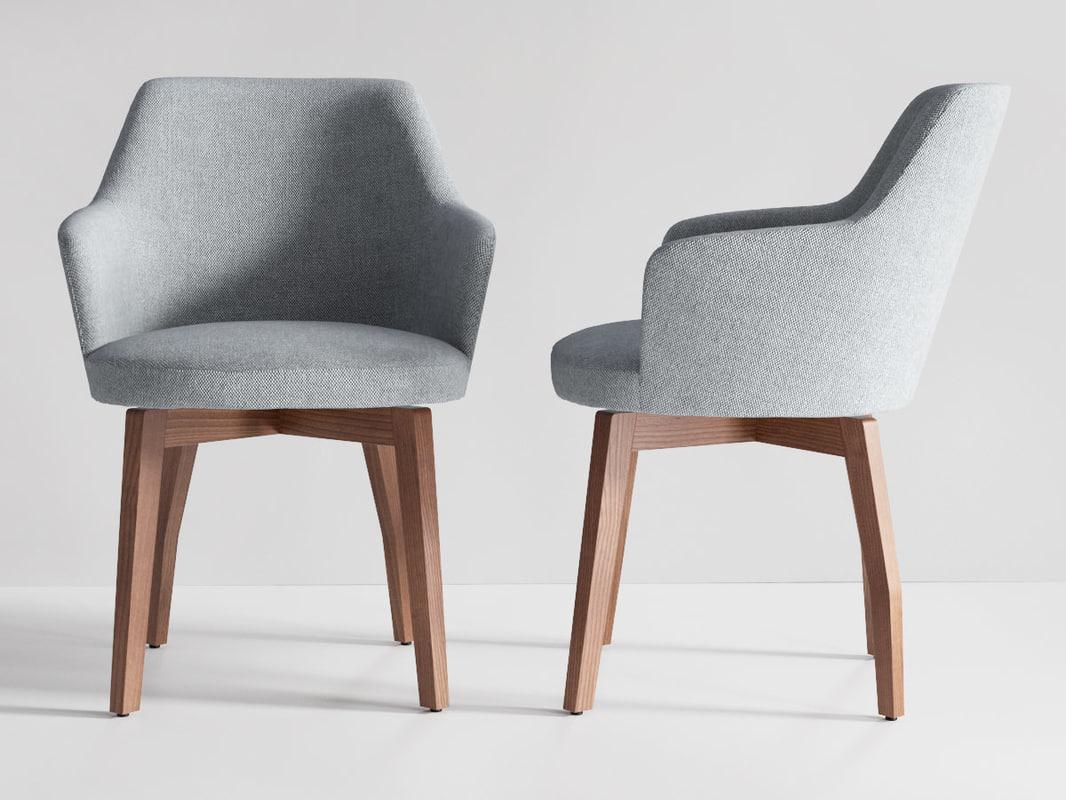 3D model allen chair