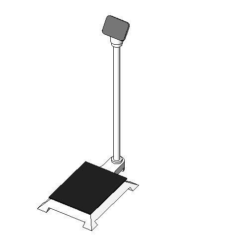 scales floor digital 3D model