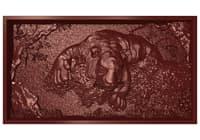 bas relief tiger cnc 3D model