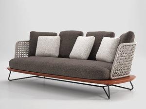 rivera sofa 3D model