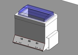 plasma thawing bath 3D model