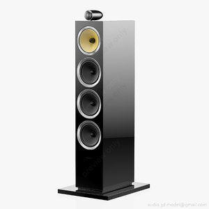 floorstanding bowers wilkins cm 3D