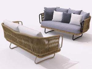 babylon sofa 3D model