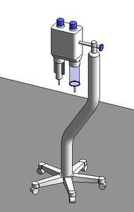 3D model injector contrast media ct