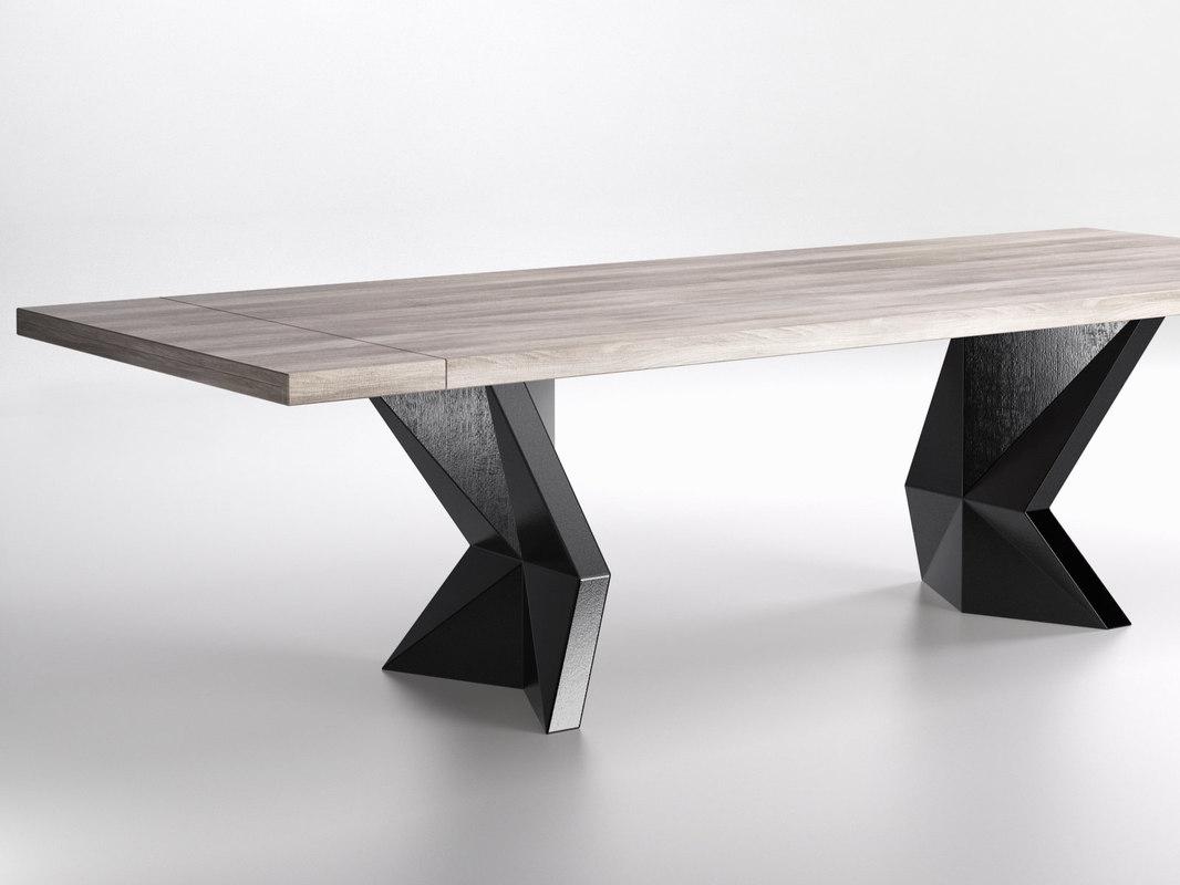 3D kavante viceroy dining table
