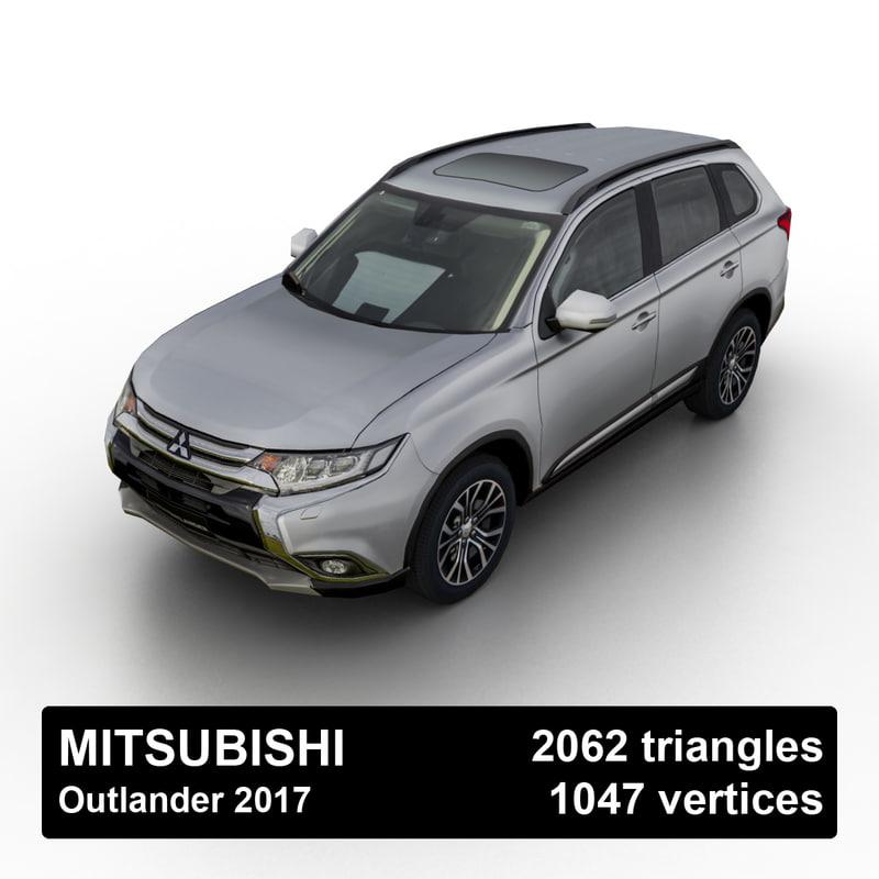 2017 mitsubishi outlander model
