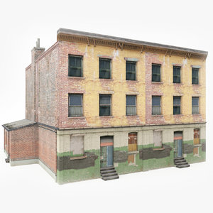 3D ready old building