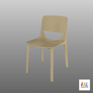 chair leaf ton 3D model