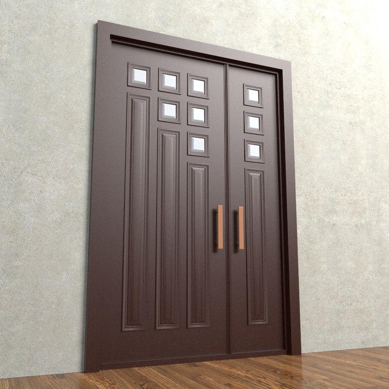 entrance door 3D model