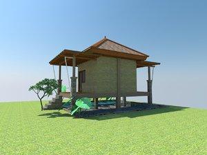 3D quite home model