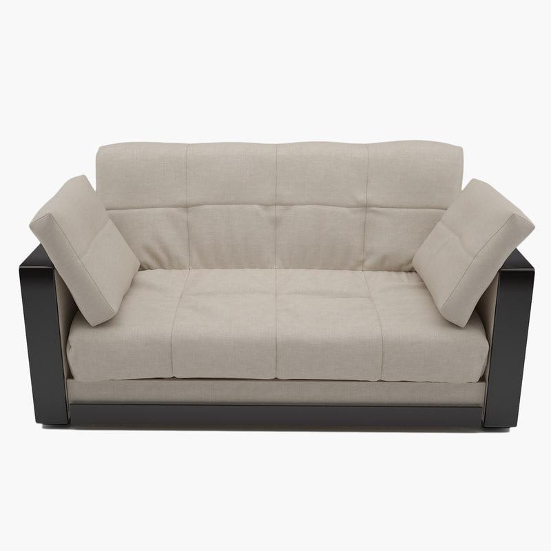 sofa 001 3D model
