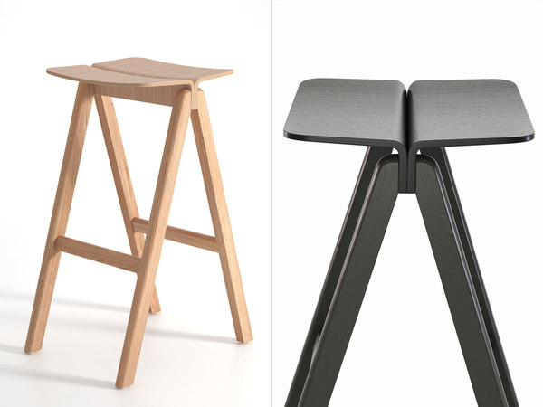 3D model cph barstool