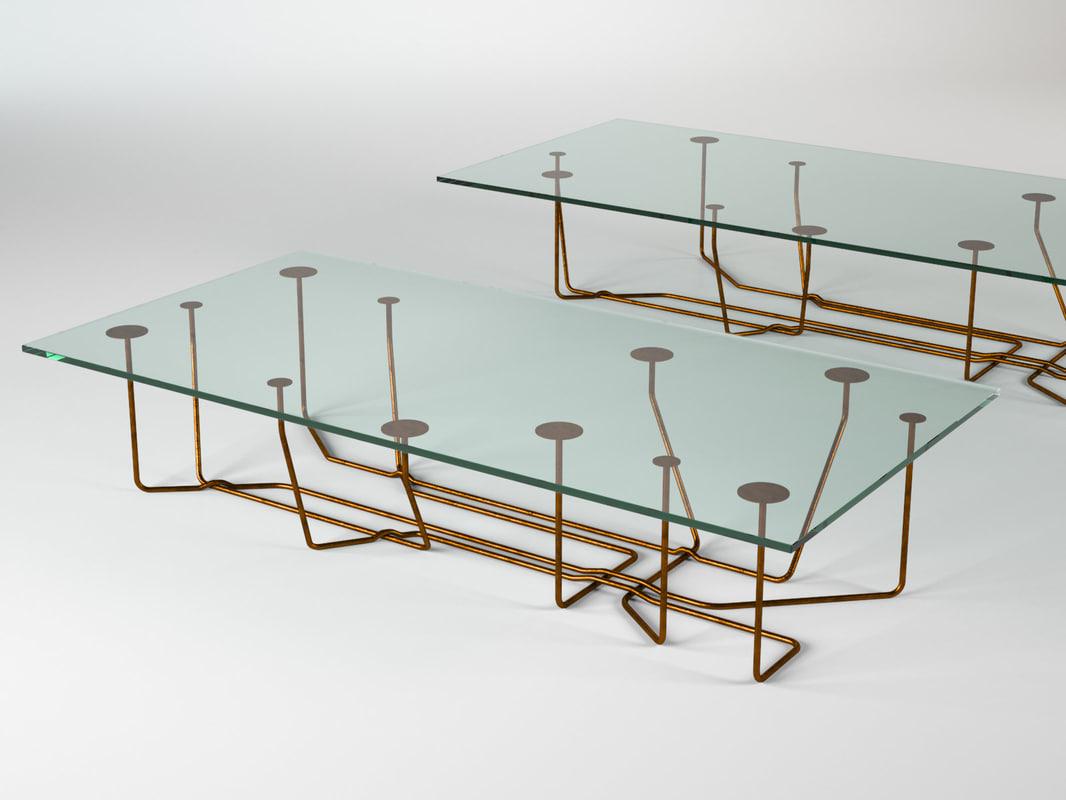 3D model connection rectangular
