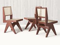Chandigarh Armless Dining Chair