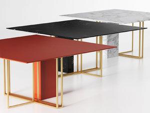 3D model plinto square